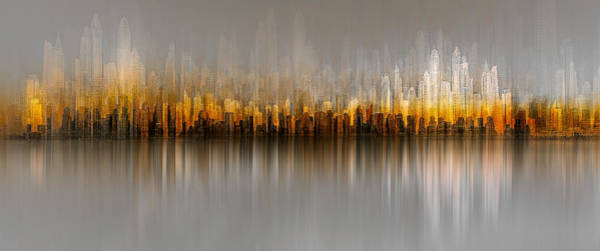 Wall Art - Photograph - Dubai Skyline by Carmine Chiriac?