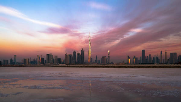 Wall Art - Photograph - Dubai Skyline by Zohaib Anjum