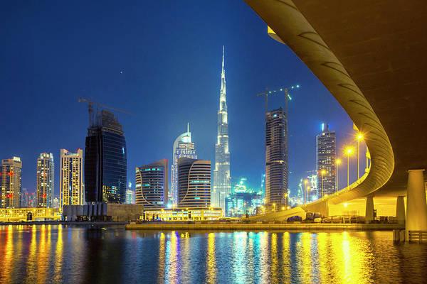 Shopping Districts Wall Art - Photograph - Dubai by Xavierarnau