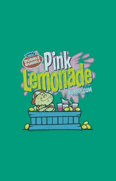 Lemonade Wall Art - Digital Art - Dubble Bubble - Pink Lemonade by Brand A