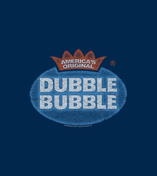 Brands Digital Art - Dubble Bubble - Vintage Logo by Brand A