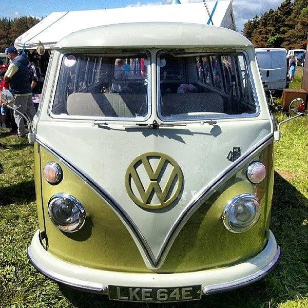 Vw Camper Photograph - Dubfest At Druridge Bay #nature by Michael Henderson