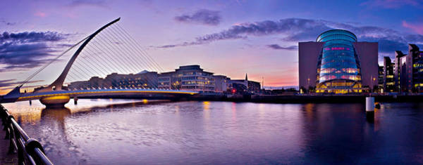 Photograph - Dublin Docklands Panorama / Dublin by Barry O Carroll