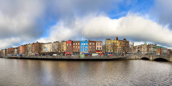 Photograph - Dublin Ireland Panorama by Mark Tisdale