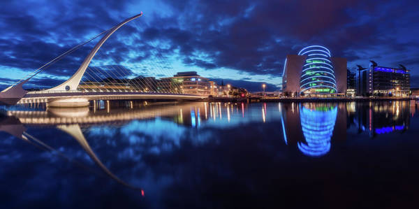 Wall Art - Photograph - Dublin - Samuel Beckett Bridge by Jean Claude Castor