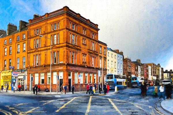 Photograph - Dublin Street Corner In Winter by Mark Tisdale