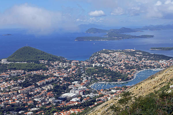 Photograph - Dubrovnik And Outlying Islands by Tony Murtagh