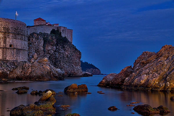 Photograph - Dubrovnik Bay by Stuart Litoff