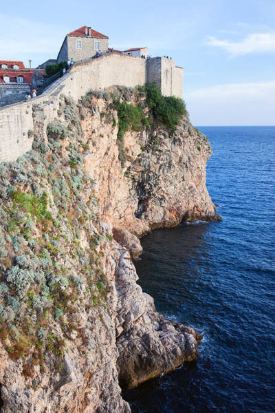Wall Art - Photograph - Dubrovnik Cliffs By The Adriatic Sea by Artur Bogacki