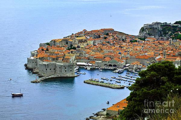 Dubrovnik Photograph - Dubrovnik Croatia by Lutz Baar