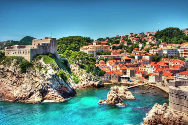 Dubrovnik Photograph - Dubrovnik Harbor by Samantha T. Photography
