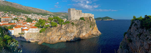 Wall Art - Photograph - Dubrovnik, Old Town Walls by Alan Copson