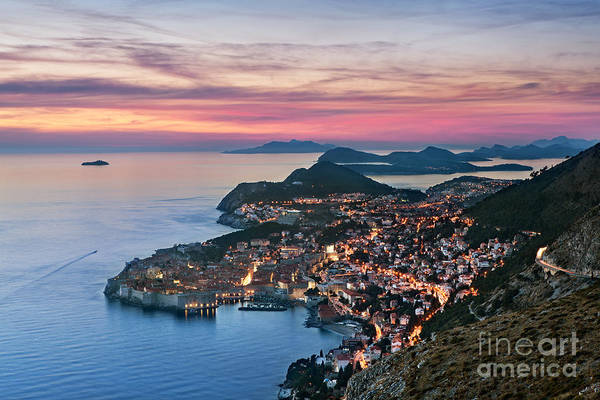 Elevated Wall Art - Photograph - Dubrovnik by Rod McLean