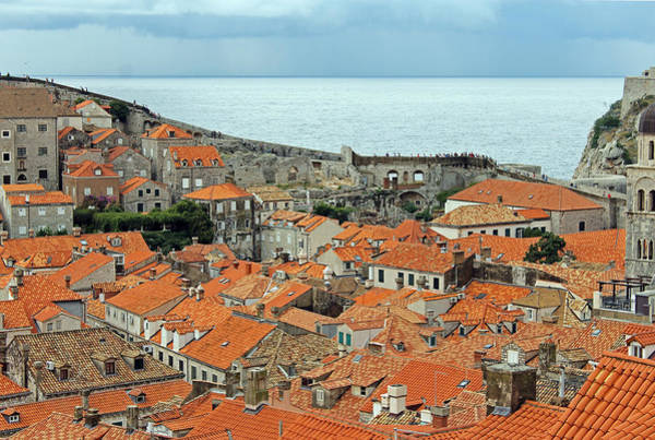 Photograph - Dubrovnik Rooftops And Walls by Tony Murtagh