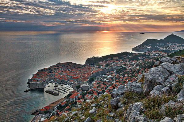 Photograph - Dubrovnik Sunset by Stuart Litoff