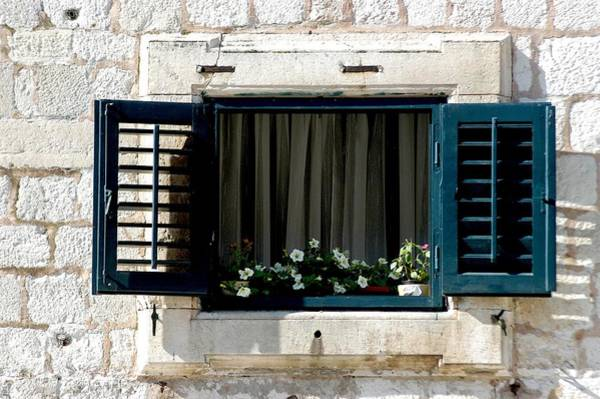 Photograph - Dubrovnik Window by Joseph Yarbrough