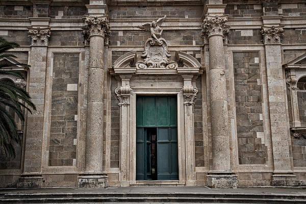 Photograph - Dubrovnik's Jesuit Church by Stuart Litoff