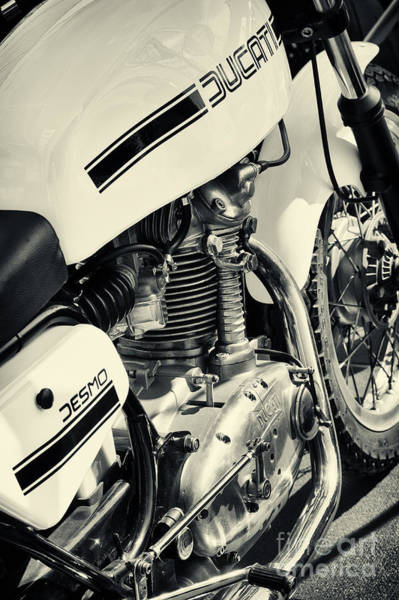 Photograph - Ducati Desmo 250cc Motorcycle by Tim Gainey