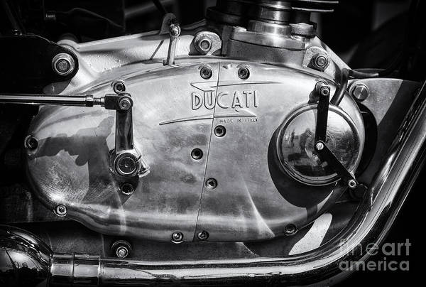 Photograph - Ducati Desmo Engine Casing  by Tim Gainey