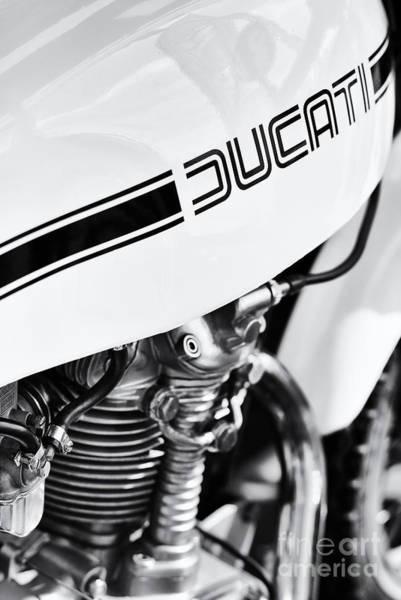 Photograph - Ducati Desmo Motorcycle by Tim Gainey