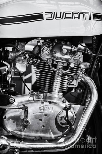 Photograph - Ducati Desmo by Tim Gainey