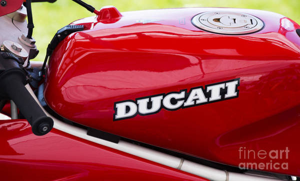 Photograph - Ducati Motorcycle  by Tim Gainey