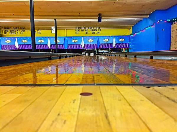Photograph - Duckpin Bowling by Chris Montcalmo