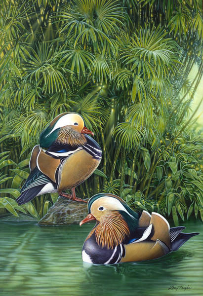 Wall Art - Painting - Ducks by JQ Licensing