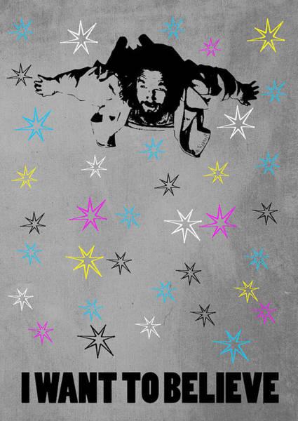 The Big Lebowski Wall Art - Digital Art - Dude I Want To Believe 3 by Filippo B