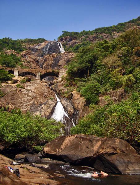 Goa Photograph - Dudh Sagar Falls by Ayan Mukherjee's Photography
