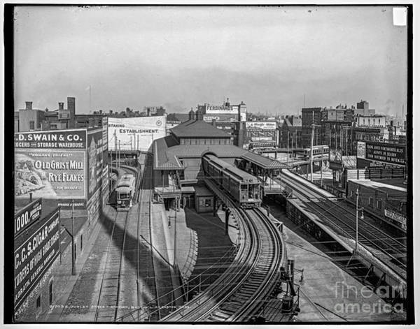 Photograph - Dudley St Station by Russell Brown
