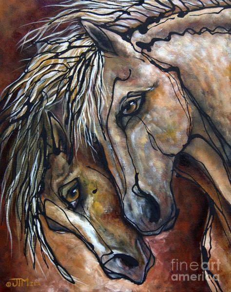 Painting - Duet by Jonelle T McCoy