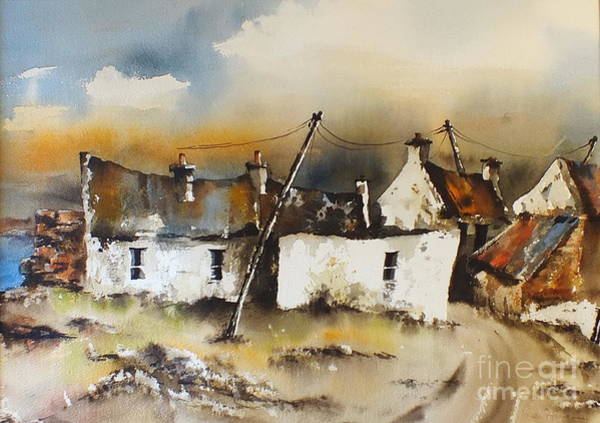 Painting - Dugort Panoptic Demo Video by Val Byrne