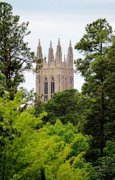 Photograph - Duke Chapel by Cynthia Guinn