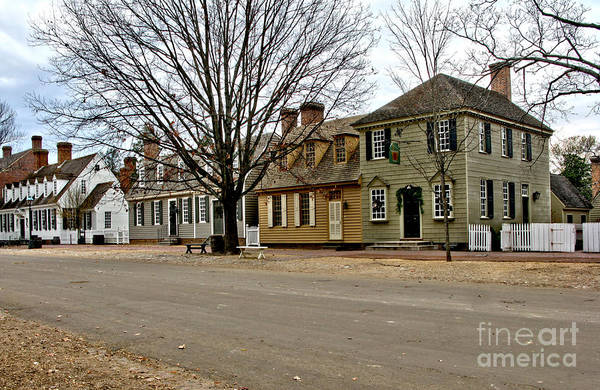 Williamsburg Photograph - Duke Of Gloucester Street In Williamsburg by Olivier Le Queinec