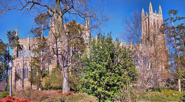 Photograph - Duke University Chapel by Paulette B Wright