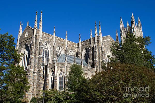 Photograph - Duke University Chapel by Steven Frame