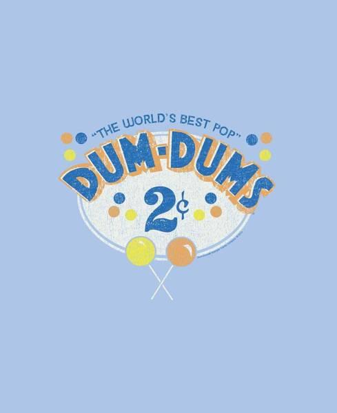 Brands Digital Art - Dum Dums - 2 Cents by Brand A