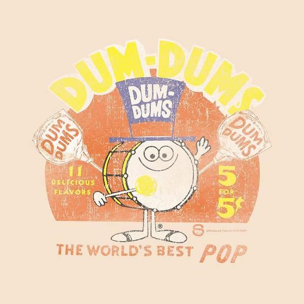 Brands Digital Art - Dum Dums - Best Pop by Brand A
