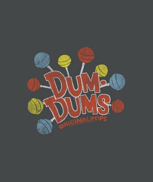 Brands Digital Art - Dum Dums - Original Pops by Brand A