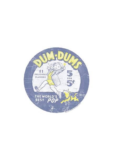 Brands Digital Art - Dum Dums - Pop Parade by Brand A