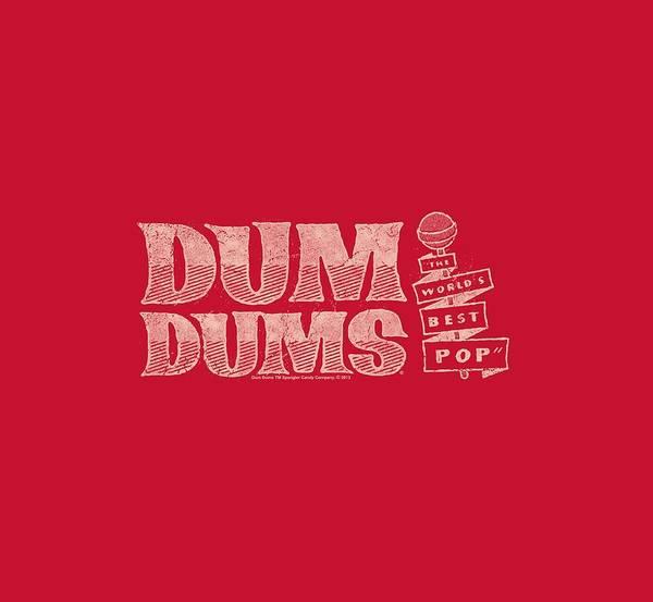 Brands Digital Art - Dum Dums - World's Best by Brand A