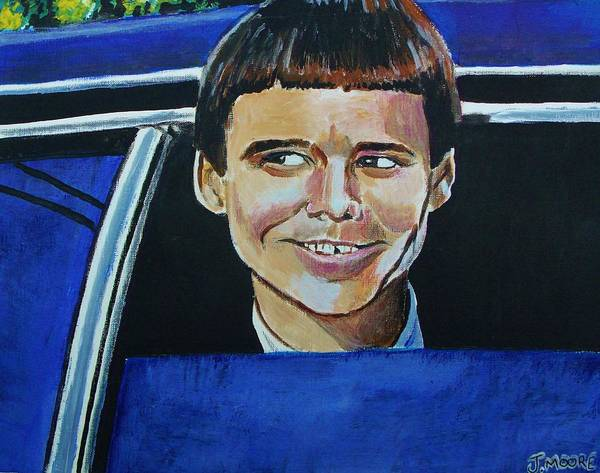 Jim Carrey Painting - Dumber by Jeremy Moore