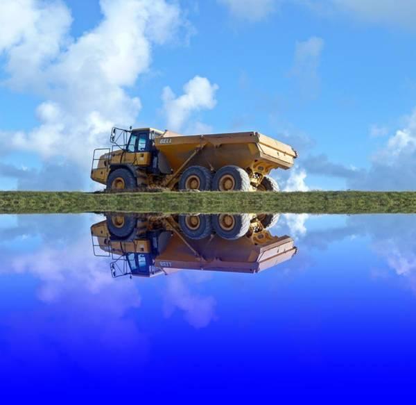 Dump Truck Photograph - Dumper Truck by Sharon Lisa Clarke
