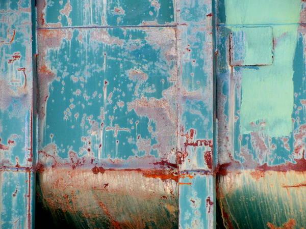 Photograph - Dumpster Rust 2 by Anita Burgermeister
