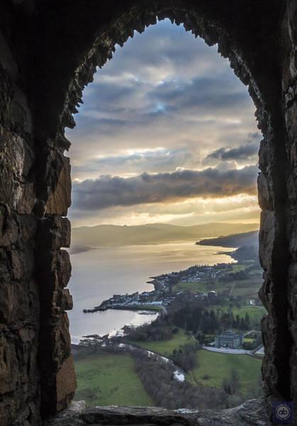 Inverary Castle Wall Art - Photograph - Dun Na Cuaiche Watch Tower by Anatole Beams