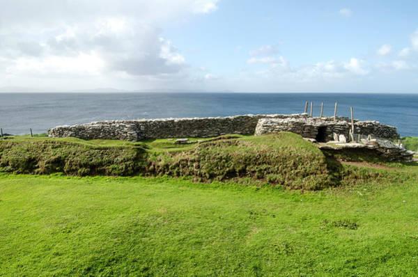 Prehistoric Era Wall Art - Photograph - Dunbeg Fort, Dingle Peninsula by M Timothy O'keefe