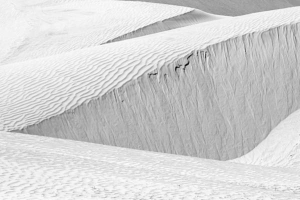 Dune Abstract, Paryang, 2011 Art Print