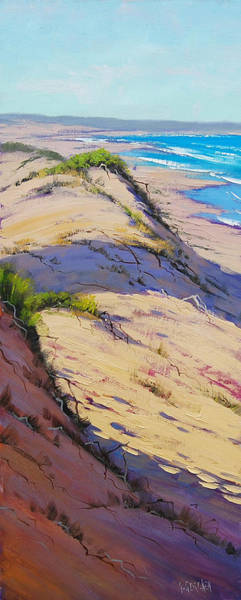 Surf Painting - Dune Scape by Graham Gercken