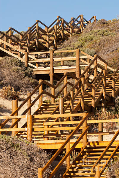 Photograph - Dune Steps 06 by Rick Piper Photography